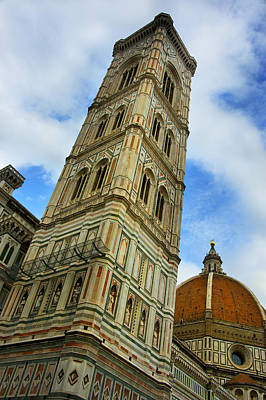 Photograph - Giotto Campanile Tower In Florence Italy by Pam  Elliott