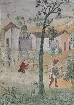 Church On The Hill Photograph - Giovan Pietro Da Cemmo, Assumpted by Everett