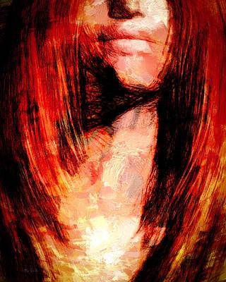 Painting - Giovanna by Bob Orsillo