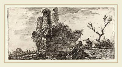 Tr Drawing - Giovanni Battista Piranesi Italian, 1720-1778 by Litz Collection
