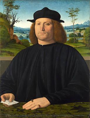 Giovanni Cristoforo Longoni Print by Andrea Solario