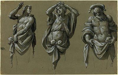 Mauro Drawing - Giovanni Mauro Della Rovere Italian, 1575 - 1640 by Quint Lox
