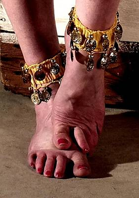 Photograph - Gipsy Feet by Guy Pettingell