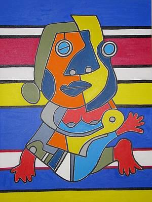 Gipsy Woman Art Print by Daniel Burtea