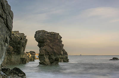 Photograph - Girdleness Rock Stack by Veli Bariskan