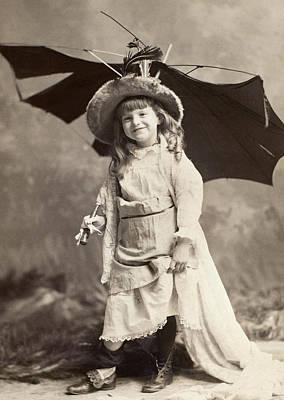 Photograph - Girl, 1889 by Granger