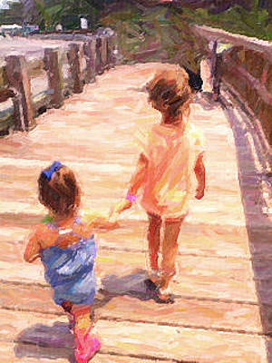 Photograph - Girl Friends by Carol Kinkead
