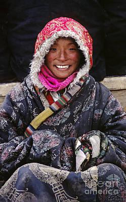 Photograph - Girl From Amdo - Tibet by Craig Lovell