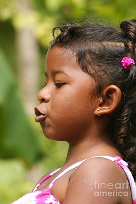 Photograph - girl from Panama 3 by Rudi Prott