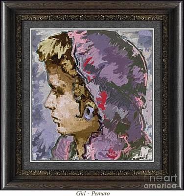 Girl G2 Art Print