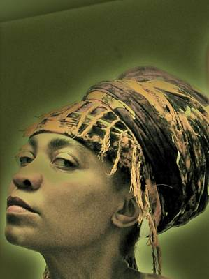 Photograph - Girl In Gele by Cleaster Cotton