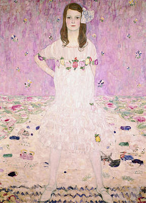 Painting - Girl In White by Celestial Images