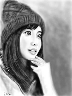 Painting - Girl No.189 by Yoshiyuki Uchida