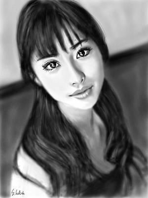 Painting - Girl No.191 by Yoshiyuki Uchida