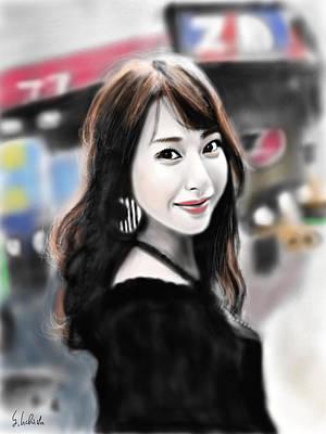 Painting - Girl No.194 by Yoshiyuki Uchida
