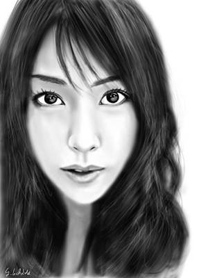 Painting - Girl No.200 by Yoshiyuki Uchida