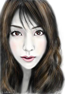 Painting - Girl No.201 by Yoshiyuki Uchida