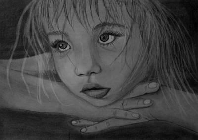 Girl Art Print by Pawel Heluszka