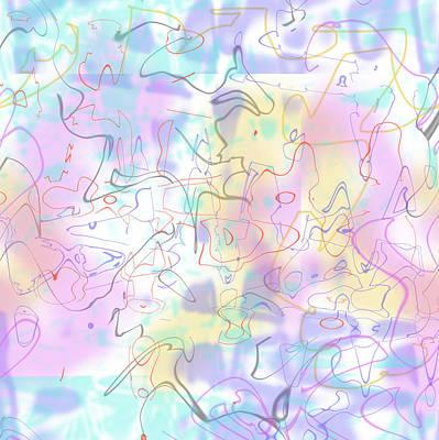 Digital Art - Girl Power by Ginny Schmidt