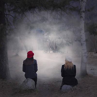 Girlfriends Art Print by Joana Kruse