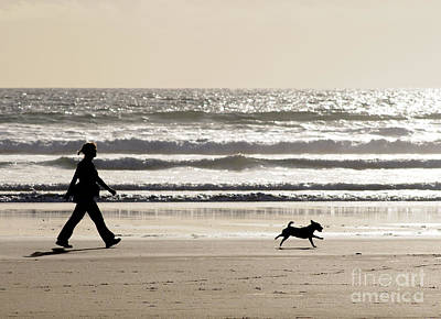 Best Friend Photograph - Girl's Best Friend by Colin Woods