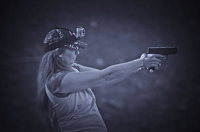 Photograph - Girls Guns And Gopro's by Sherri Meyer