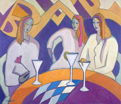 Nightclub Painting - Girls Night Out, 2003-04 by Jeanette Lassen