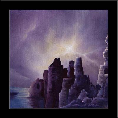Girnigoe Castle Original by James Christopher Hill