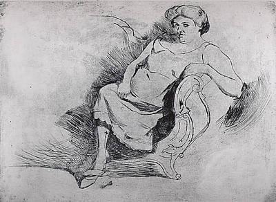 Boccioni Drawing - Gisella by Umberto Boccioni