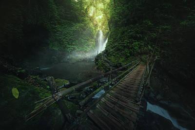 Bamboo Wall Art - Photograph - Git Git by Juan Pablo De