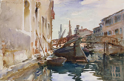 Painting - Giudecca by John Singer Sargent