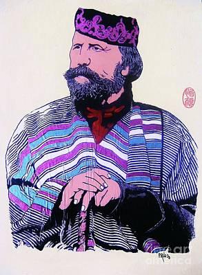 Painting - Giuseppe Garibaldi by Roberto Prusso