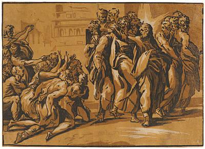 Giuseppe Nicola Rossigliani Italian, Active Ca. 1510 – Print by Litz Collection