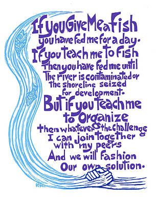 Give Me A Fish Art Print