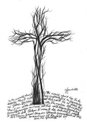 Give Me Jesus Print by J Ferwerda