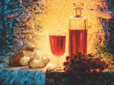 Communion Painting - Given For You by Graham Braddock