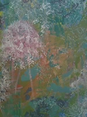 Giverny Flowers Original by Charlene Sawe