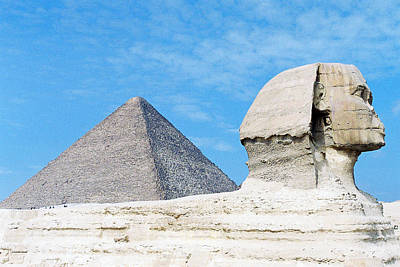 Art Print featuring the photograph Giza by Cassandra Buckley