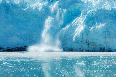 Photograph - Glacial Calving by Debra Martz