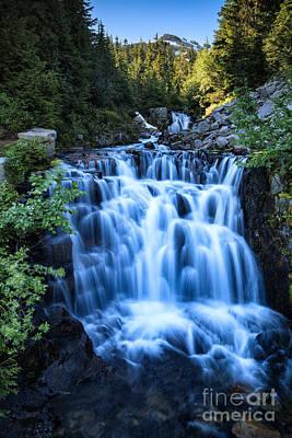 Photograph - Glacial Creek by Stuart Gordon