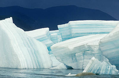 Glacial Ice Print by Art Wolfe
