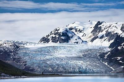 Photograph - Glacial River Photograph By Jo Ann Tomaselli by Jo Ann Tomaselli