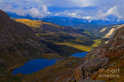 Photograph - Glacial Valley by Barbara Schultheis