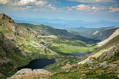 Arapaho Photograph - Glacial Valley by Jim West