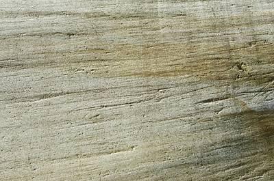 Glacially Eroded Granite Bedrock Art Print
