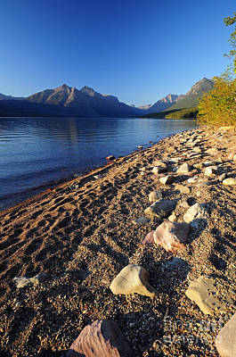 Photograph - Glacier - Lake Mcdonald by Cindy Murphy - NightVisions