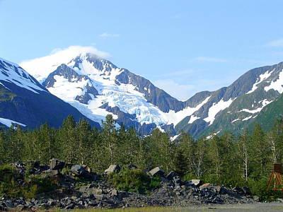 Photograph - Glacier 4 by Lew Davis