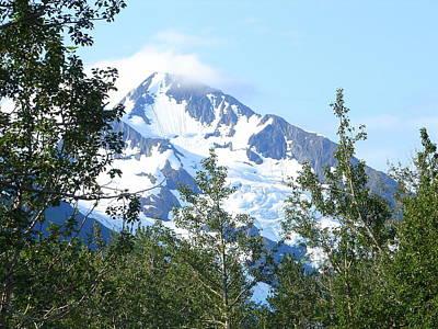 Photograph - Glacier 5 by Lew Davis