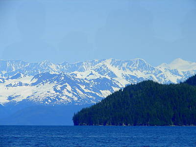Photograph - Glacier 6 by Lew Davis