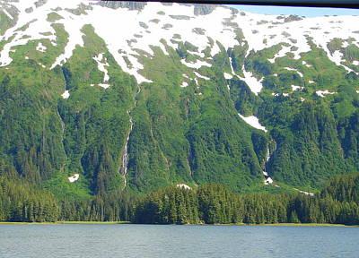 Photograph - Glacier 7 by Lew Davis
